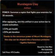 Wundagore Clay Descr