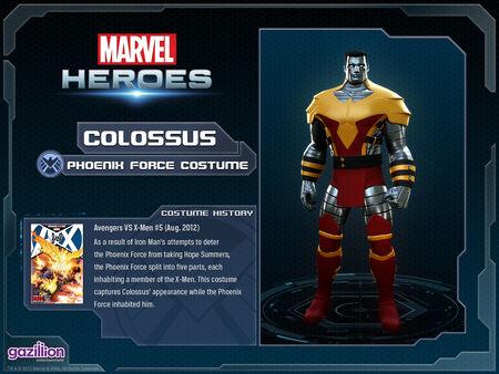 Costume colossus phoenixforce