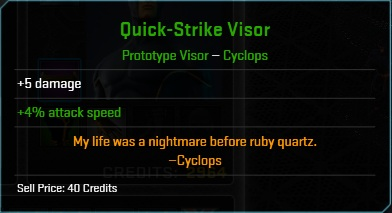 Equipment-Visor-Quick-Strike Visor (Cyclops 5)