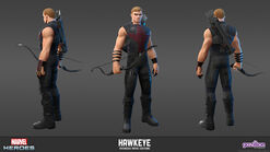 Hawkeye Avengers Movie Model