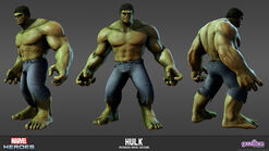 Hulk Avengers Movie Model