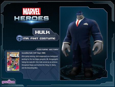 Costume hulk mrfixit