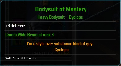 Equipment-Bodysuit-Bodysuit of Mastery (Cyclops 6)