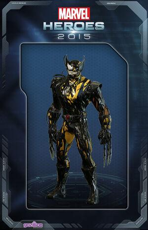 Costume wolverine symbiote