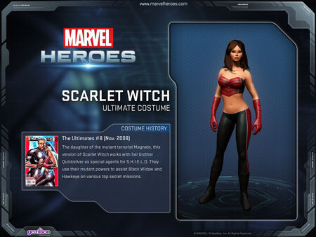 Costume scarletwitch ultimate