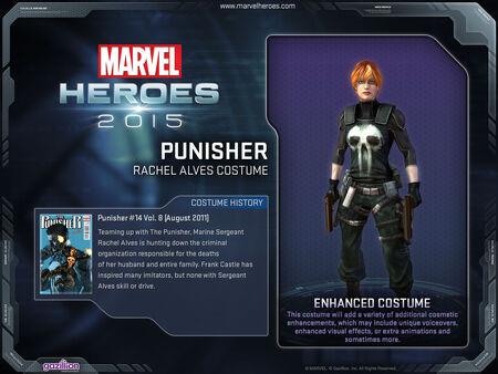 Costume punisher RachelAlves