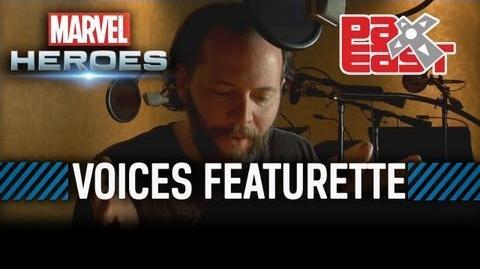 Marvel Heroes Voices Featurette