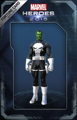 Costume Punisher Skrull