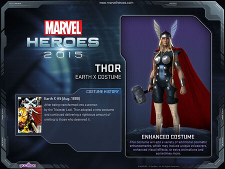 Costume thor earthX