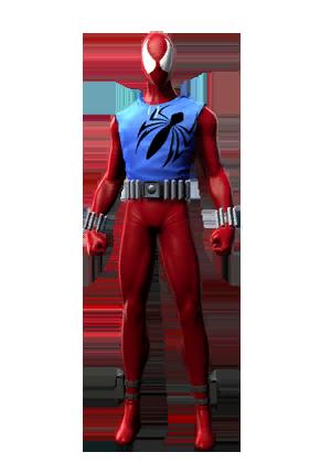 F spiderman scarletspider