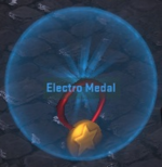 Equipment-Medal- Medal - Electro
