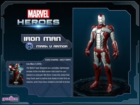 Costume ironman mark5