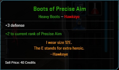 Equipment-Boots-Boots of Precise Aim (Hawkeye 3)