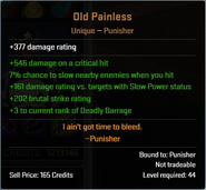 Old Painless