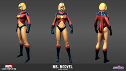 Ms. Marvel Classic Model