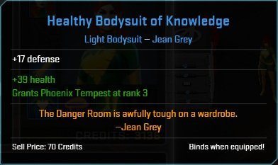 Equipment-Bodysuit-Healthy Bodysuit of Knowledge (Jean Grey 17)