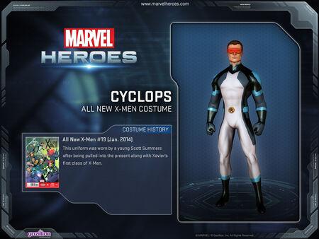Costume cyclops allnewxmen