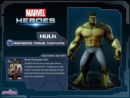 Costume hulk movie