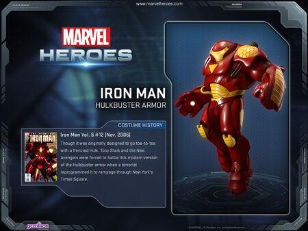 Costume ironman hulkbuster
