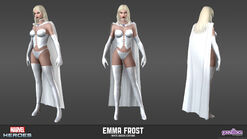 Emma Frost White Queen Model