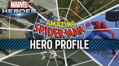 Marvel Heroes - Spider-Man Hero Profile