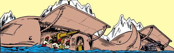 Atlantean Whale Ship