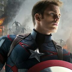 Captain America Character Poster