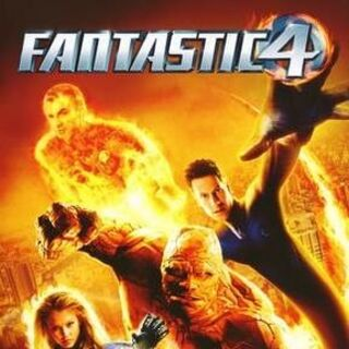 Fantastic 4 UK DVD