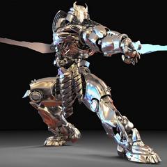 Concept render of the Silver Samurai