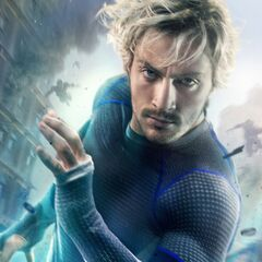 Quicksilver Character Poster