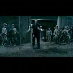 Colossus taking down Brotherhood mutants at Alcatraz.