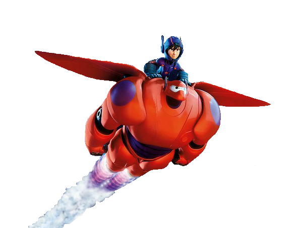 File:Hiro and Baymax Flying Render.png