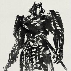 Teaser poster featuring the Silver Samurai.