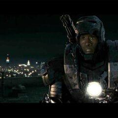 Rhodes in his War Machine armor.