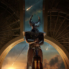 International Poster of Heimdall.