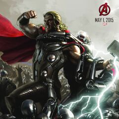 Comic-Con poster of Thor
