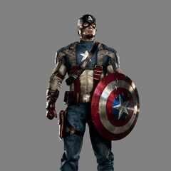 The Captain America uniform from <i>Captain America: The First Avenger</i>.