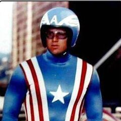 The Captain America uniform from the 1970's film.