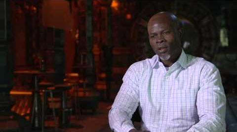 Marvel's Guardians of the Galaxy Djimon Hounsou Behind the Scenes Movie Interview