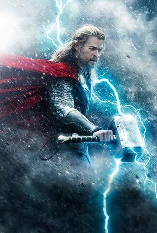 File:Thor Odinson TDW poster textless.jpg