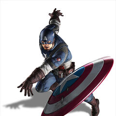 3D Concept Art model for <i>Captain America: Super Soldier</i>.