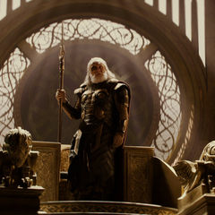Loki impersonating Odin