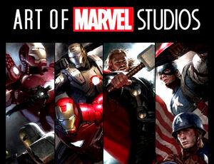 Art of marvel studios cvr-1-
