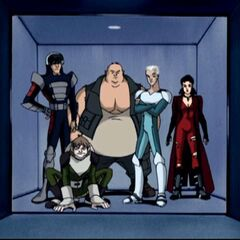 Toad pretends to join the X-Men.