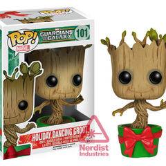 Holiday Dancing Groot