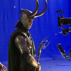 Behind the Scene image of The Other and Loki