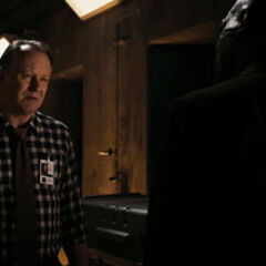 Selvig meets with Nick Fury
