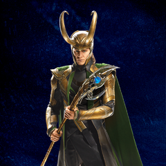 Promotional Russian Poster featuring Loki.
