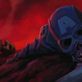 Cap dead in Thor's vision