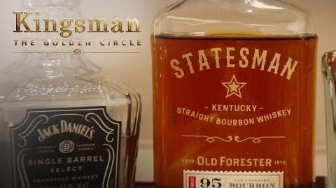 Kingsman The Golden Circle Introducing Old Forester Statesman 20th Century FOX